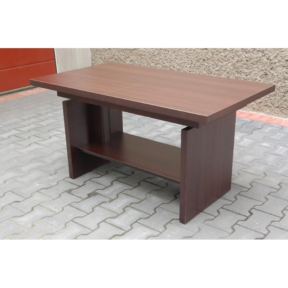 Coffee Table Extendable Legs: DENVER SQUARE TABLE