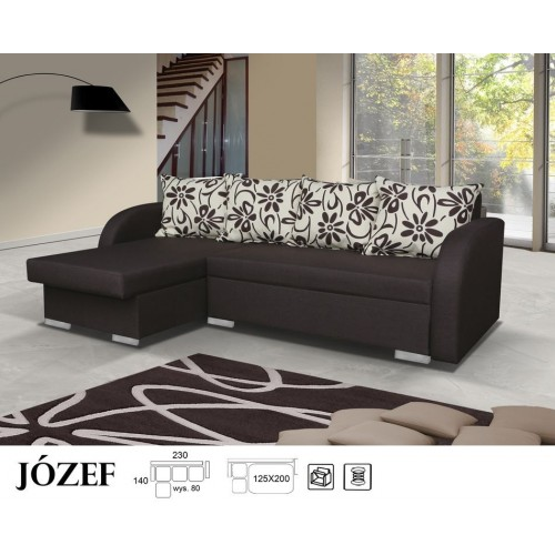 JOSEPH, Model no. 1, fabric: BOS 7 + PIlLOWS ESTEL 720503
