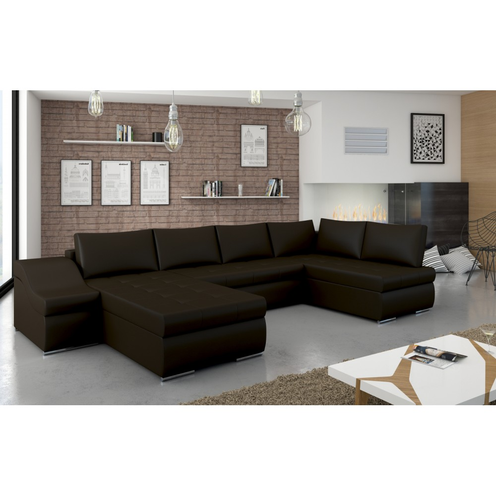 "GIOVANNI, ""MODEL 1"": Soft 66 dark brown - eco leather, III group price, universal side"