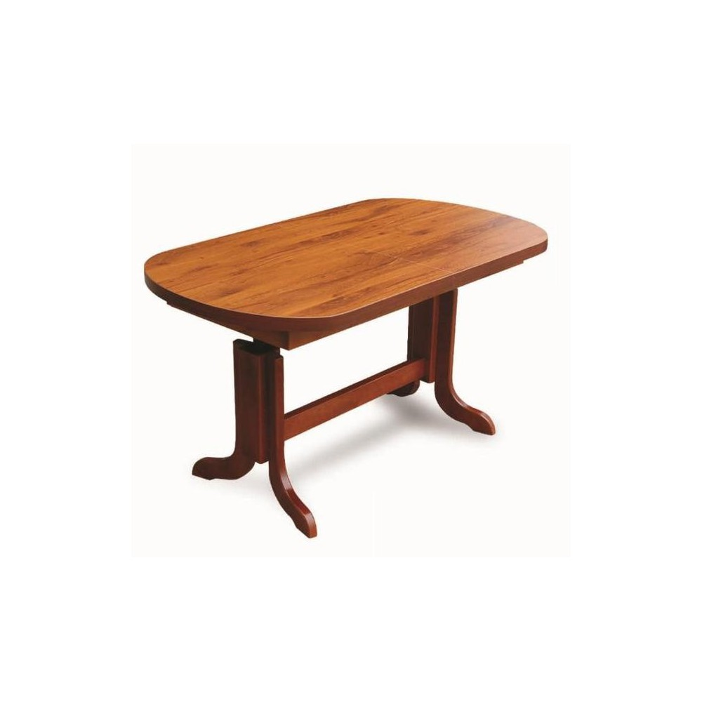 OVAL TABLE, colour 100-years-old oak