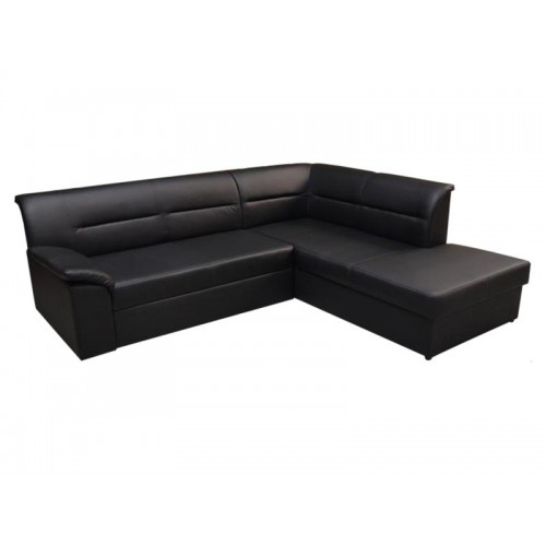 ELANO, faux leather Soft black