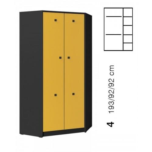 TOMMY 2 corner wardrobe