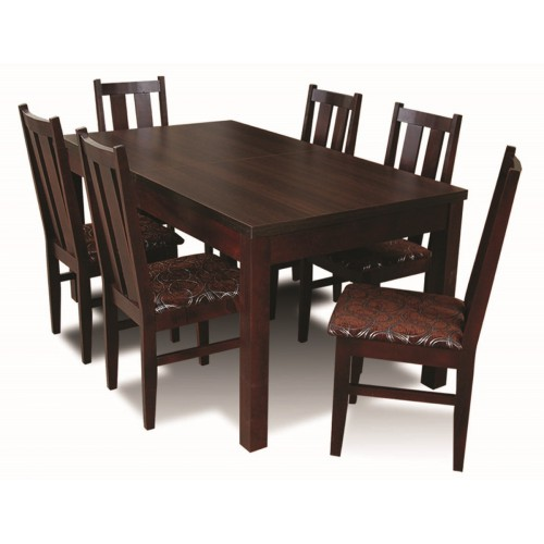 SET TABLE AND CHAIRS NO. 2, colour wenge