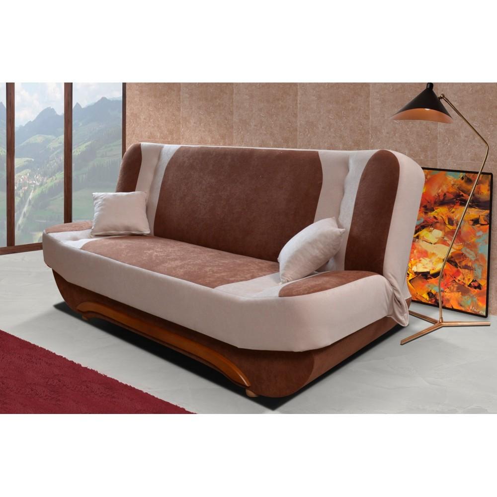 "EWA II, ""MODEL 1"": fabric Alova 12 (brown) + Alova 07 (beige), 1st Price Group"